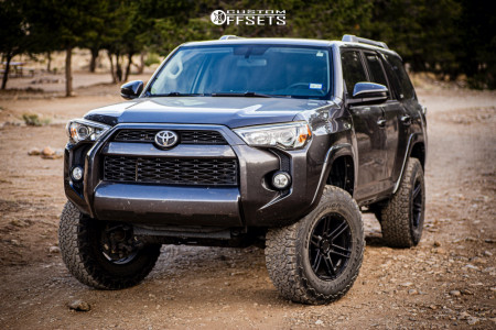 "2016 Toyota 4Runner - 17x9 -12mm - VenomRex Vr602 - Suspension Lift 3"" - 285/70R17"