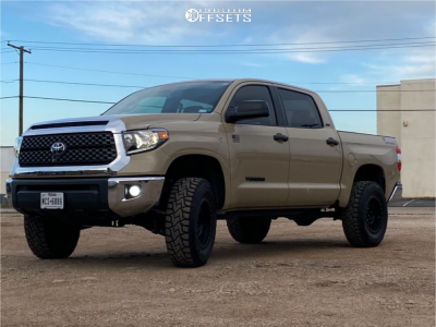 "2020 Toyota Tundra - 18x9 0mm - Method Mesh - Suspension Lift 3.5"" - 35"" x 12.5"""