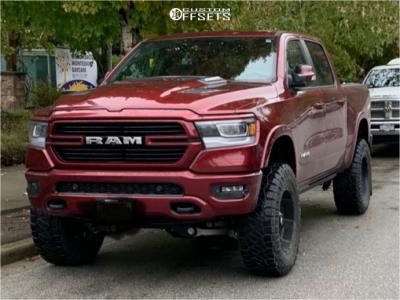 "2019 Ram 1500 - 20x10 -18mm - Fuel Hostage - Suspension Lift 6"" - 37"" x 12.5"""