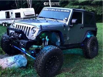"2020 Jeep Wrangler - 18x12 -44mm - Pro Comp 7031 - Suspension Lift 5"" - 37"" x 12.5"""