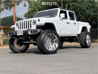 """2020 Jeep Gladiator - 24x14 -76mm - Cali Off-Road Summit - Suspension Lift 6"""" - 37"""" x 13.5"""""""