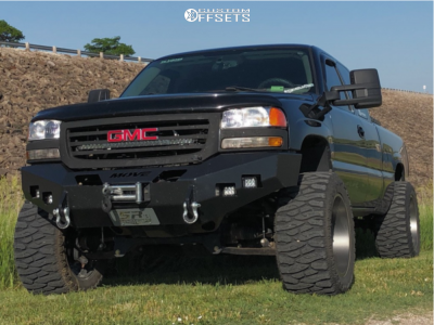 "2007 GMC Sierra 1500 Classic - 20x12 -51mm - Toxic Punisher - Suspension Lift 6"" - 375/45R20"