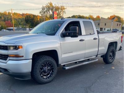 2019 Chevrolet Silverado 1500 LD - 17x9 0mm - Fuel Boost - Stock Suspension - 265/70R17