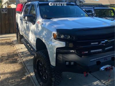 "2019 Chevrolet Silverado 1500 - 20x9 -0mm - Pro Comp Series 61 - Suspension Lift 4"" - 35"" x 12.5"""