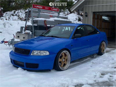 1999 Audi S4 - 19x9.5 22mm - ESR Sr06 - Coilovers - 215/35R19