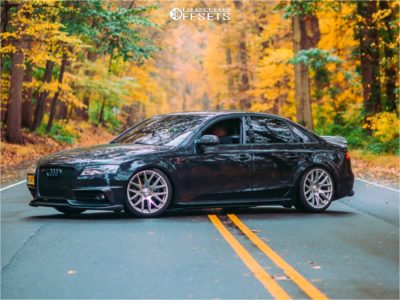 2010 Audi S4 - 19x9.5 40mm - 3SDM 0.01 - Coilovers - 255/35R19