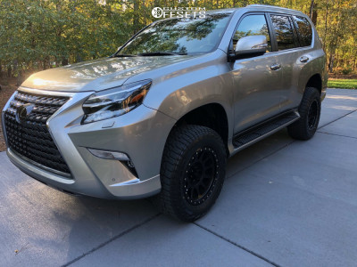 "2020 Lexus GX460 - 18x11 -12mm - Method Mr305 - Suspension Lift 3"" - 275/65R18"
