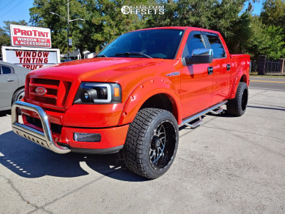 "2005 Ford F-150 - 22x12 -44mm - TIS 544mb - Stock Suspension - 33"" x 12.5"""