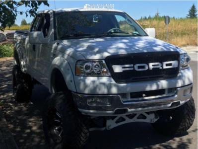 "2004 Ford F-150 - 20x12 -45mm - Fuel Hardline - Suspension Lift 12"" - 37"" x 13.5"""