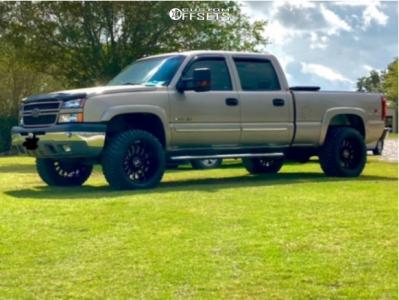 "2003 Chevrolet Silverado 1500 HD - 20x12 -44mm - Hostile Fury - Leveling Kit - 33"" x 12.5"""
