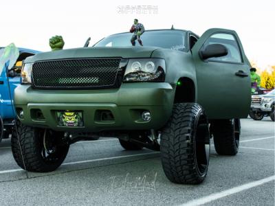 "2007 Chevrolet Tahoe - 26x14 -81mm - Arkon Off-Road Caesar - Suspension Lift 7.5"" - 37"" x 13.5"""