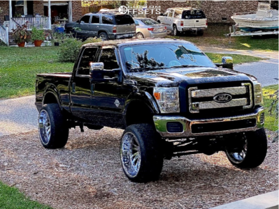 "2015 Ford F-250 Super Duty - 26x14 -72mm - Tuff T2a - Suspension Lift 8.5"" - 37"" x 13.5"""