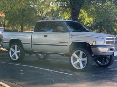 "2000 Dodge Ram 1500 - 26x10 0mm - Chevy LTZ - Suspension Lift 2.5"" - 35"" x 13.5"""