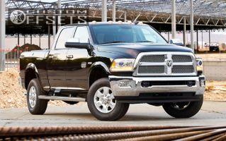 2014 Ram 2500 - 20x8 54mm - Stock Stock - Stock Suspension - 285/60R20