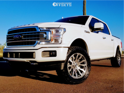 2020 Ford F-150 - 20x9 1mm - Fuel Blitz - Leveling Kit - 305/50R20