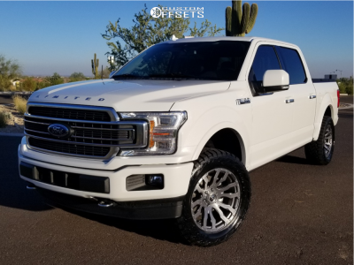 2020 Ford F-150 - 20x9 1mm - Fuel Blitz - Leveling Kit - 305/55R20