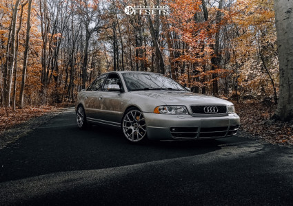 2001 Audi S4 - 18x8.5 35mm - VMR V810 - Coilovers - 225/40R18