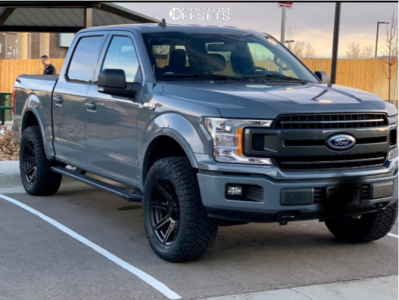 2019 Ford F-150 - 20x9 1mm - Fuel Rogue - Leveling Kit - 305/55R20