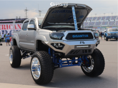"""2015 Toyota Tacoma - 24x14 -73mm - American Force Trax Ss - Suspension Lift 12"""" - 40"""" x 13.5"""""""