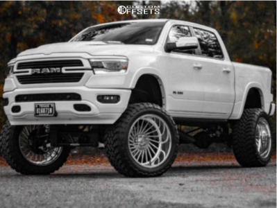 """2019 Ram 1500 - 26x14 -76mm - Stealth Forged Ruger - Suspension Lift 12"""" - 40"""" x 15.5"""""""