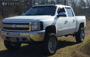 "2012 Chevrolet Silverado 1500 - 20x10 -24mm - XD Riot - Suspension Lift 7.5"" - 35"" x 12.5"""