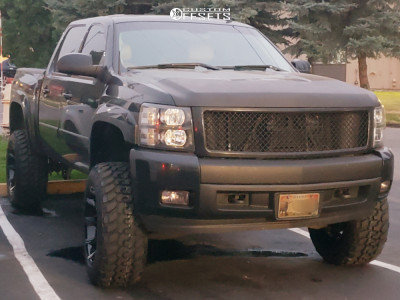"2008 Chevrolet Silverado 1500 HD - 20x12 -44mm - RBP 65r - Suspension Lift 7.5"" - 35"" x 12.5"""
