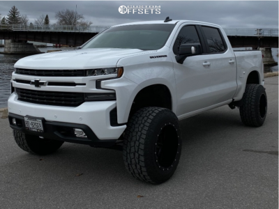 "2021 Chevrolet Silverado 1500 - 20x14 -76mm - Fuel Maverick - Suspension Lift 6"" - 35"" x 13.5"""