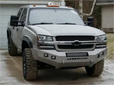 2003 Chevrolet Silverado 2500 HD Classic - 17x9 12mm - Ultra Baron - Stock Suspension - 285/70R17