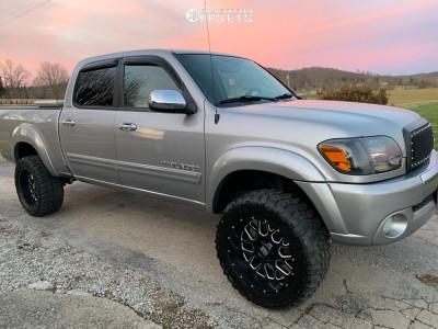 "2005 Toyota Tundra - 20x10 -24mm - XD Xd820 - Suspension Lift 4.5"" - 33"" x 12.5"""