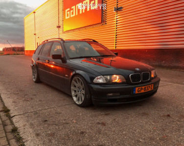 2001 BMW 3 Series - 18x8.5 20mm - BMW Style 95 - Coilovers - 215/35R18