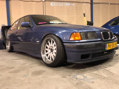 1999 BMW 3 Series - 17x8.5 13mm - BMW Kailine - Coilovers - 205/40R17