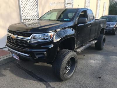 """2021 Chevrolet Colorado - 20x12 -44mm - Black Rhino Armory - Suspension Lift 5.5"""" - 33"""" x 12.5"""""""