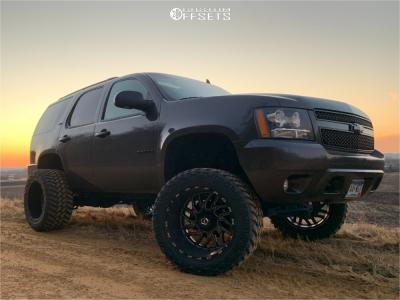 "2010 Chevrolet Tahoe - 22x14 -76mm - TIS 544bm - Suspension Lift 7.5"" - 375/45R22"