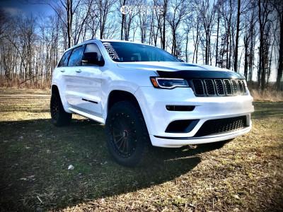 "2020 Jeep Grand Cherokee - 20x9 18mm - KMC Signal - Suspension Lift 2.5"" - 275/60R20"