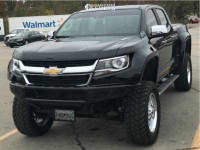 "2017 Chevrolet Colorado - 20x9 0mm - Fuel Triton - Suspension Lift 7"" - 35"" x 12.5"""