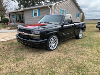 "1999 Chevrolet Silverado 1500 - 22x9 18mm - Strada Buca - Lowered on Springs - 25"" x 9.5"""