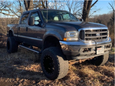 """2004 Ford F-250 Super Duty - 20x12 -44mm - Alloy Ion 141 - Air Suspension - 33"""" x 12.5"""""""