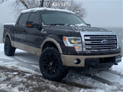 """2013 Ford F-150 - 20x9.5 10mm - DX4 Boost - Leveling Kit - 33"""" x 10.5"""""""
