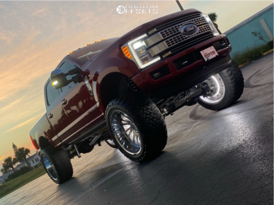 "2018 Ford F-250 Super Duty - 26x14 -72mm - Tuff T2a - Suspension Lift 10"" - 40"" x 15.5"""