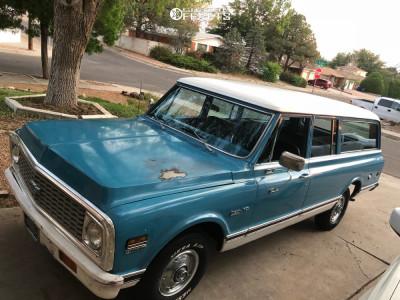 "1972 Chevrolet C10 Suburban - 20x9.5 -12mm - US Mags Rambler - Lowered 2F / 4R - 33"" x 12.5"""