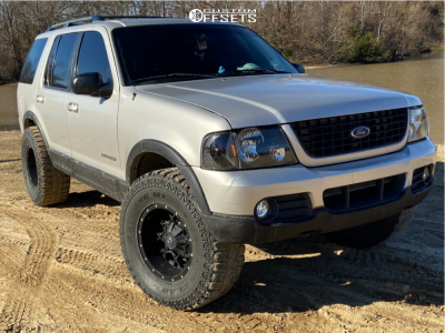 "2002 Ford Explorer - 17x9 -12mm - Dropstars 645b - Suspension Lift 3"" - 35"" x 12.5"""