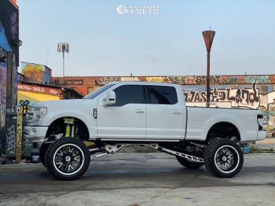 "2020 Ford F-250 Super Duty - 26x14 -72mm - Forgiato Fratello-T - Suspension Lift 12"" - 40"" x 15.5"""