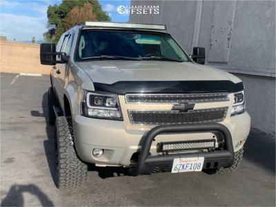 "2007 Chevrolet Suburban - 20x10 -18mm - Fuel Vapor - Suspension Lift 5"" - 305/55R20"