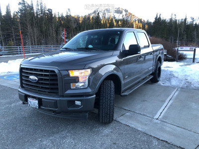 2017 Ford F-150 - 18x9 18mm - Vision Nemesis - Stock Suspension - 265/70R18