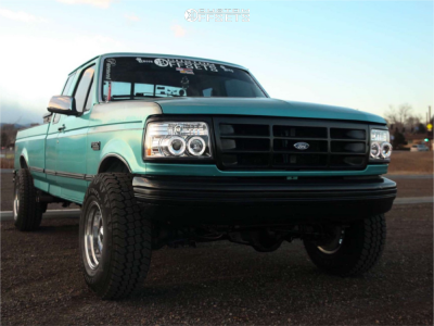1996 Ford F-250 - 16x10 -32mm - Ultra 164 - Leveling Kit - 285/75R16