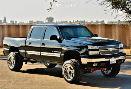 """2007 Chevrolet Silverado 1500 Classic - 20x14 -76mm - KG1 Forged Knox - Suspension Lift 8"""" - 33"""" x 12.5"""""""