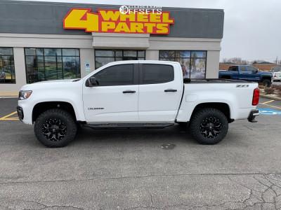 "2021 Chevrolet Colorado - 17x9 -12mm - Fuel Assault - Suspension Lift 3.5"" - 275/70R17"
