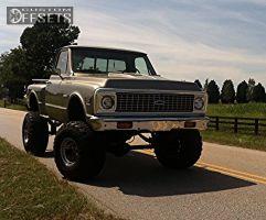 "1972 Chevrolet K10 - 15x14 -88.9mm - Bart Super Trucker - Lifted >9"" - 37"" x 16.5"""