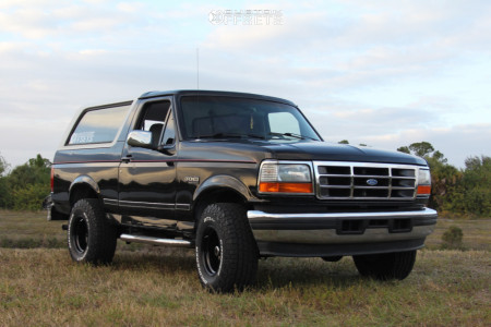"""1996 Ford Bronco - 15x10 -39mm - Vision Soft 8 - Leveling Kit - 32"""" x 12.5"""""""