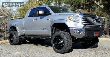 """2014 Toyota Tundra - 20x12 -44mm - Fuel Krank - Suspension Lift 6"""" - 33"""" x 12.5"""""""